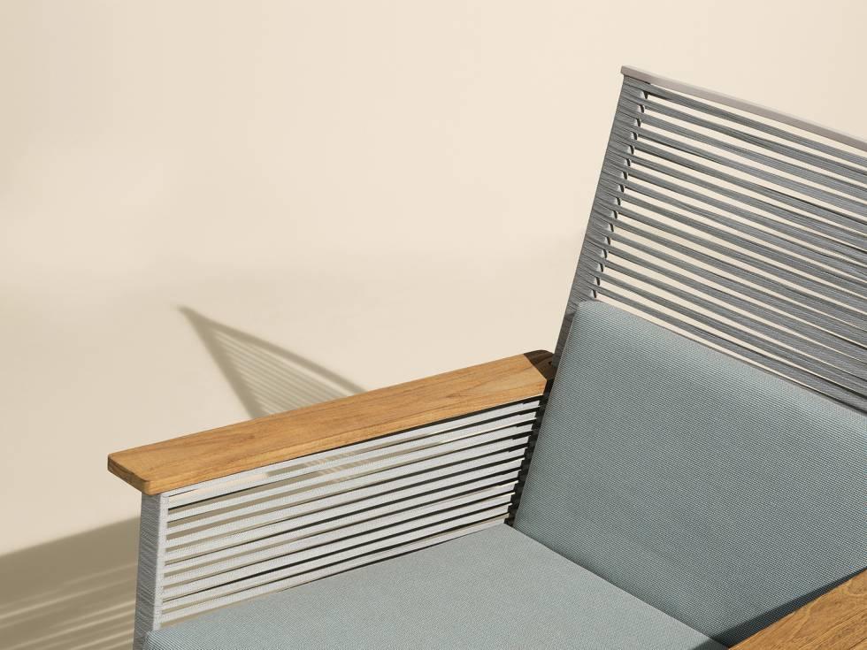 Así se convierten larguísimos tubos de aluminio en un mueble éxito ...