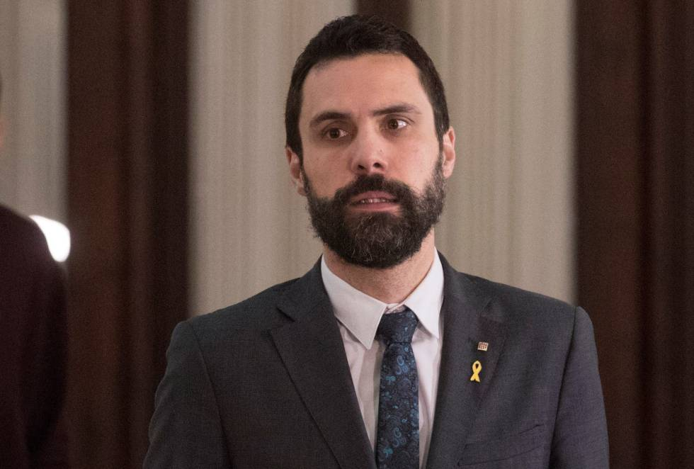 Roger Torrent, presidente del Parlamento catalán