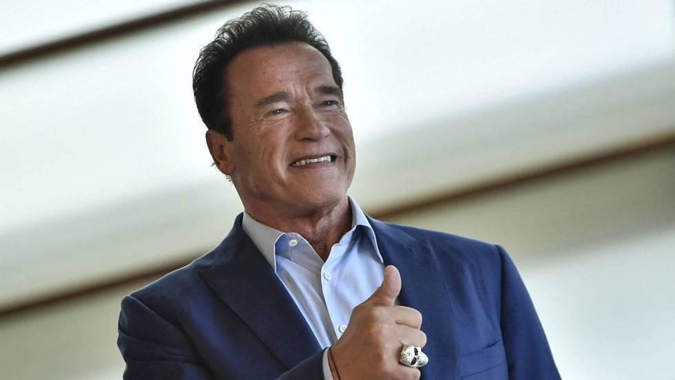 Arnold Schwarzenegger, en San Sebastián, en una imagen de archivo.