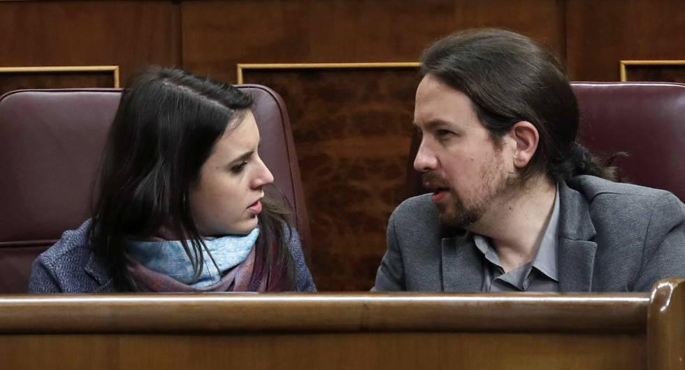 Irene Montero y Pablo Iglesias anuncian que serán padres de dos niños