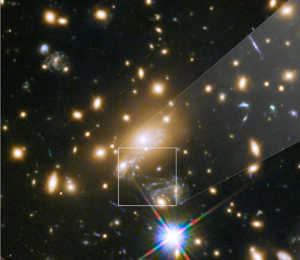 Resultado de imagen de Captan Cúmulos de galaxias lejanas