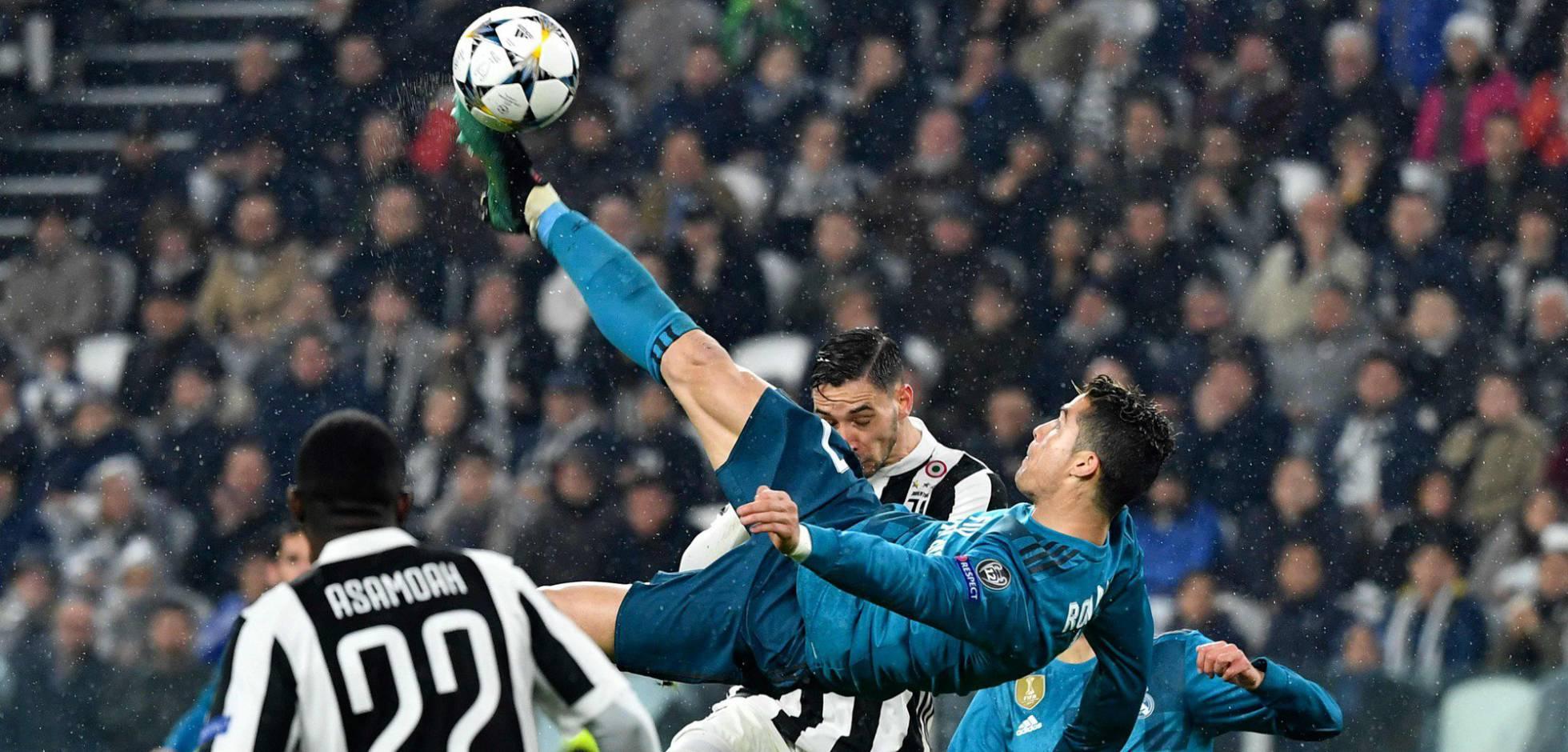 Cristiano Ronaldo gol chilena