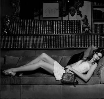 Kaia Gerber, hija de Cindy Crawford, en la campaña para Chanel.