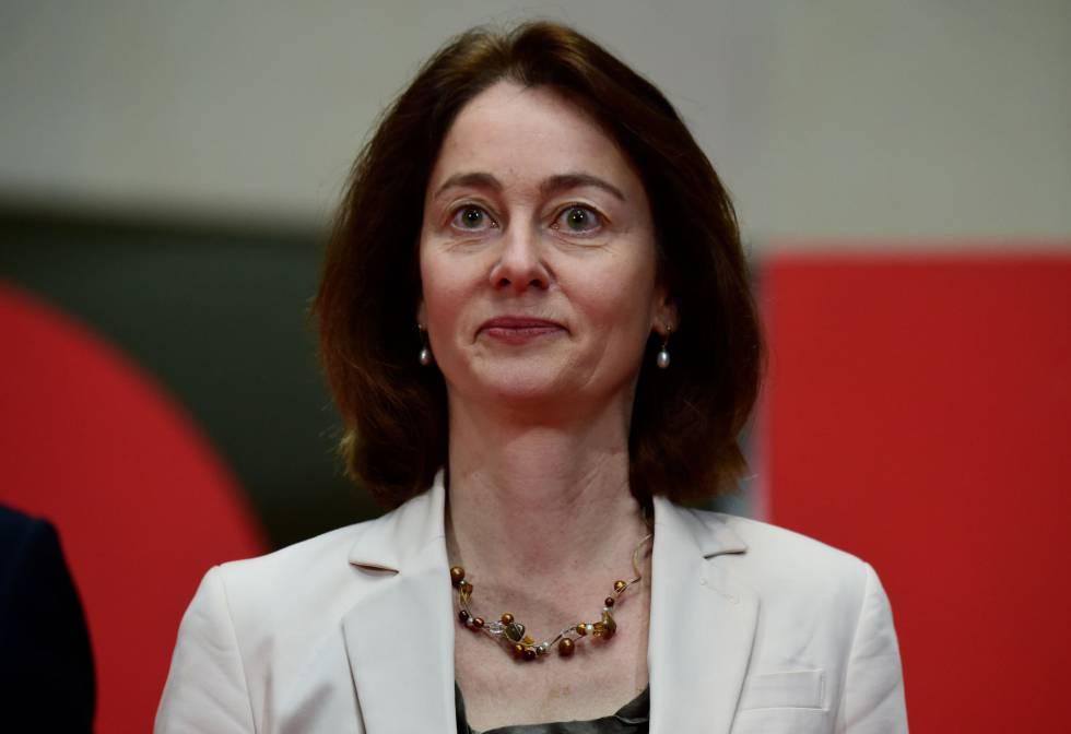 La ministra de Justicia alemana, Katarina Barley.