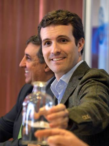 Pablo Casado, deputy secretary of communication and congressman for the PP.