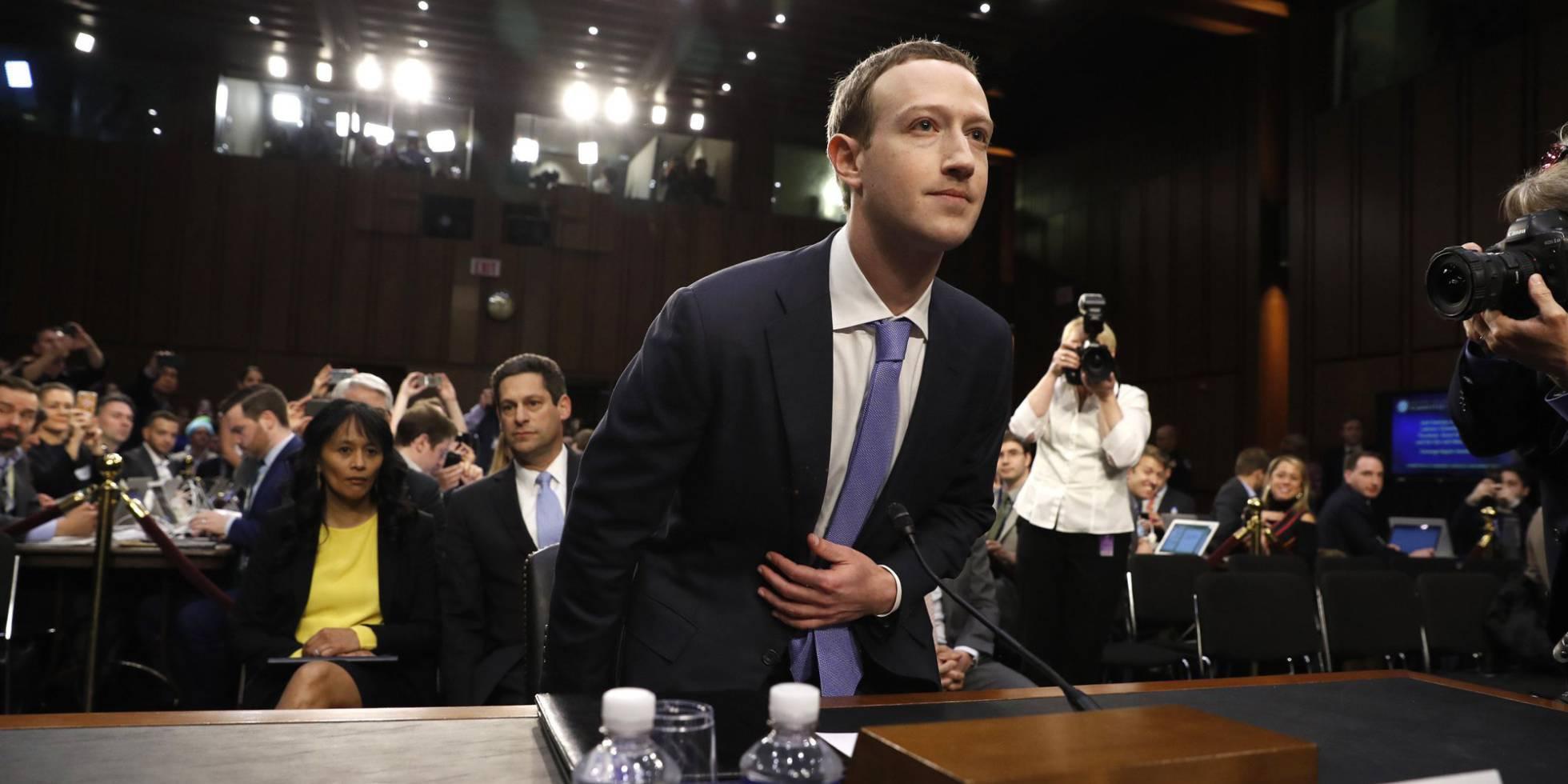 Fotos: Zuckerberg declara en el Senado por el escándalo de la fuga ...