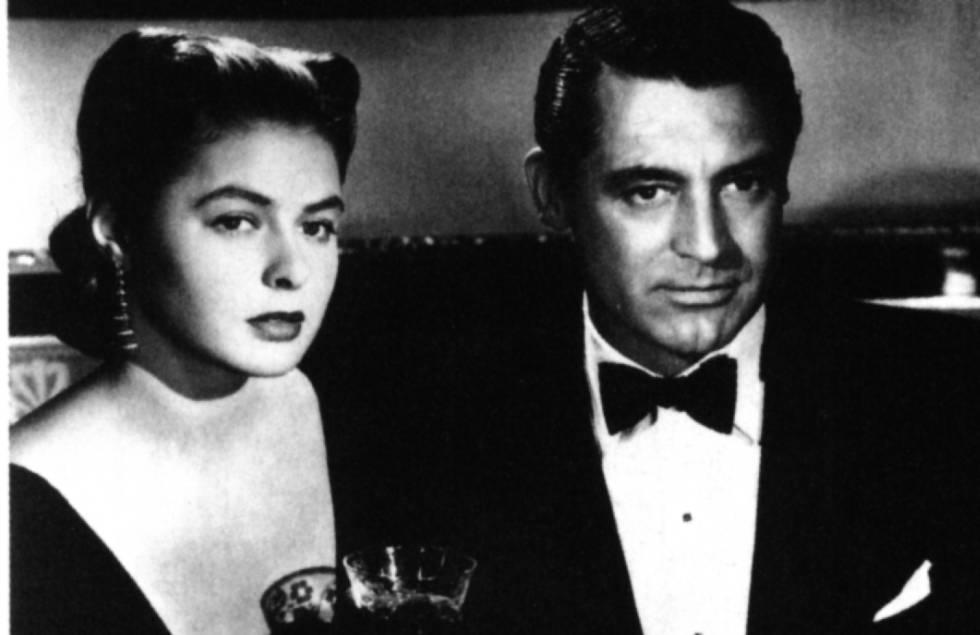 Ingrid Bergman y Cary Grant en Encadenados