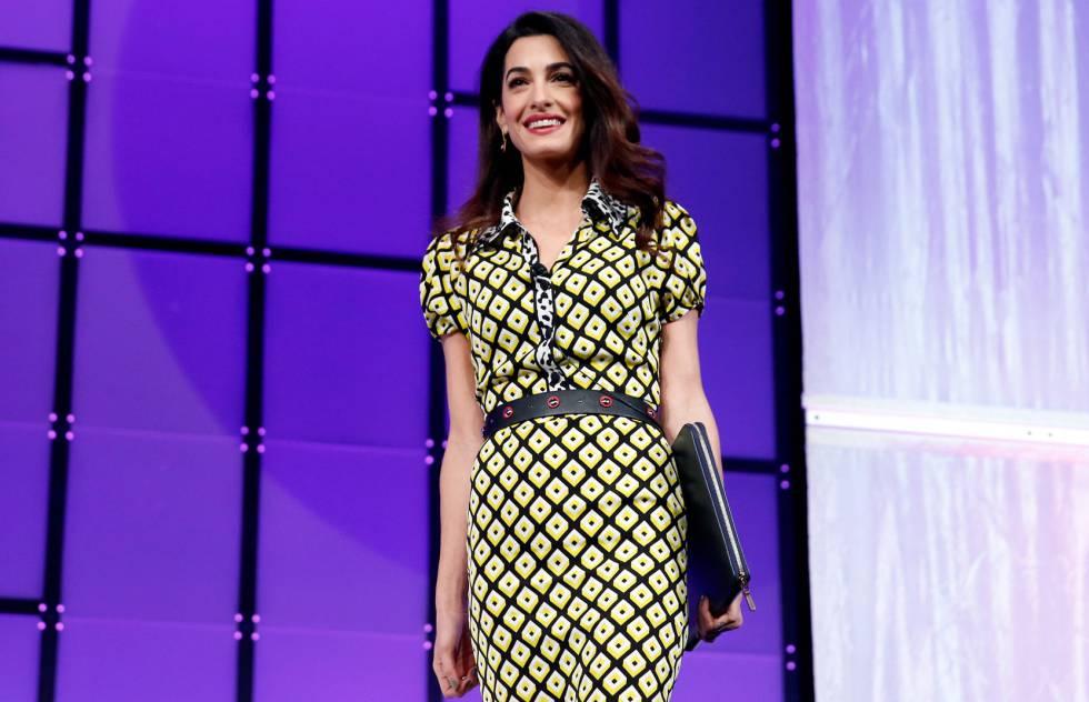 Anna Wintour escoge a Amal Clooney como modelo | Gente y Famosos ...