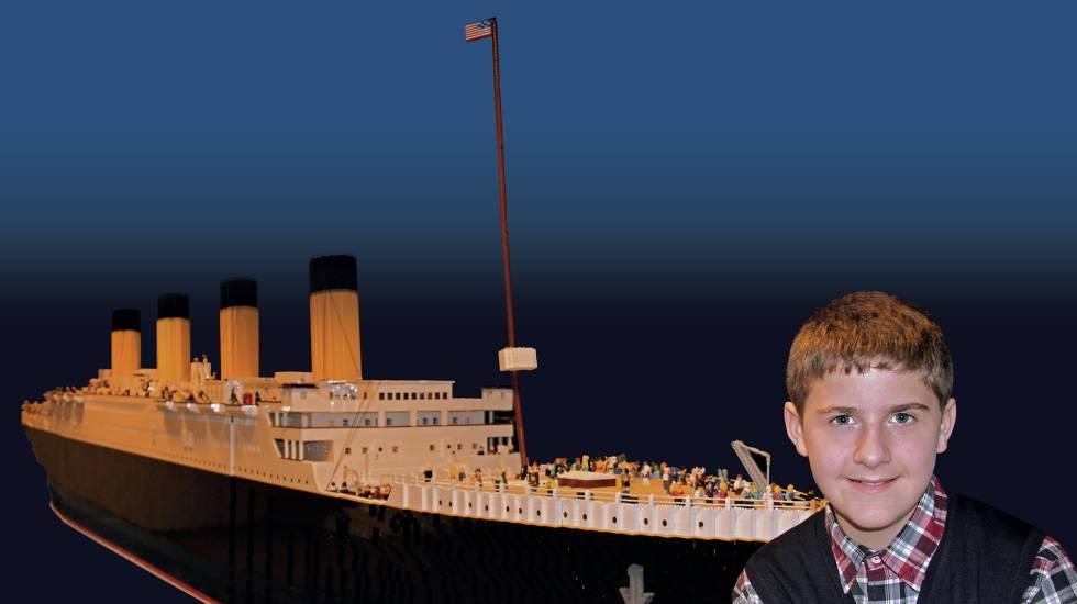Brynjar de 15 años necesitó 65.000 piezas para hacer la réplica del navío