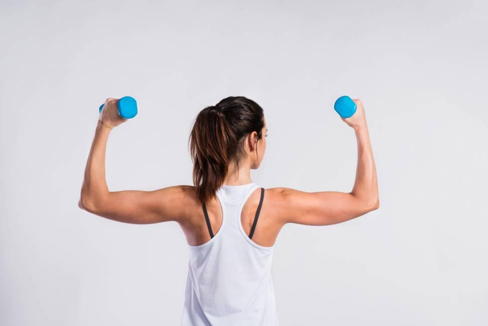 La brazos para flacidez delos quitar rapido ejercicios