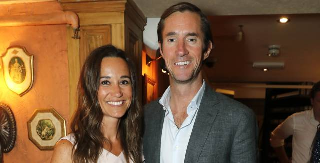 Pippa Middleton y su marido James Matthews en un evento en Covent Garden en junio de 2017.
