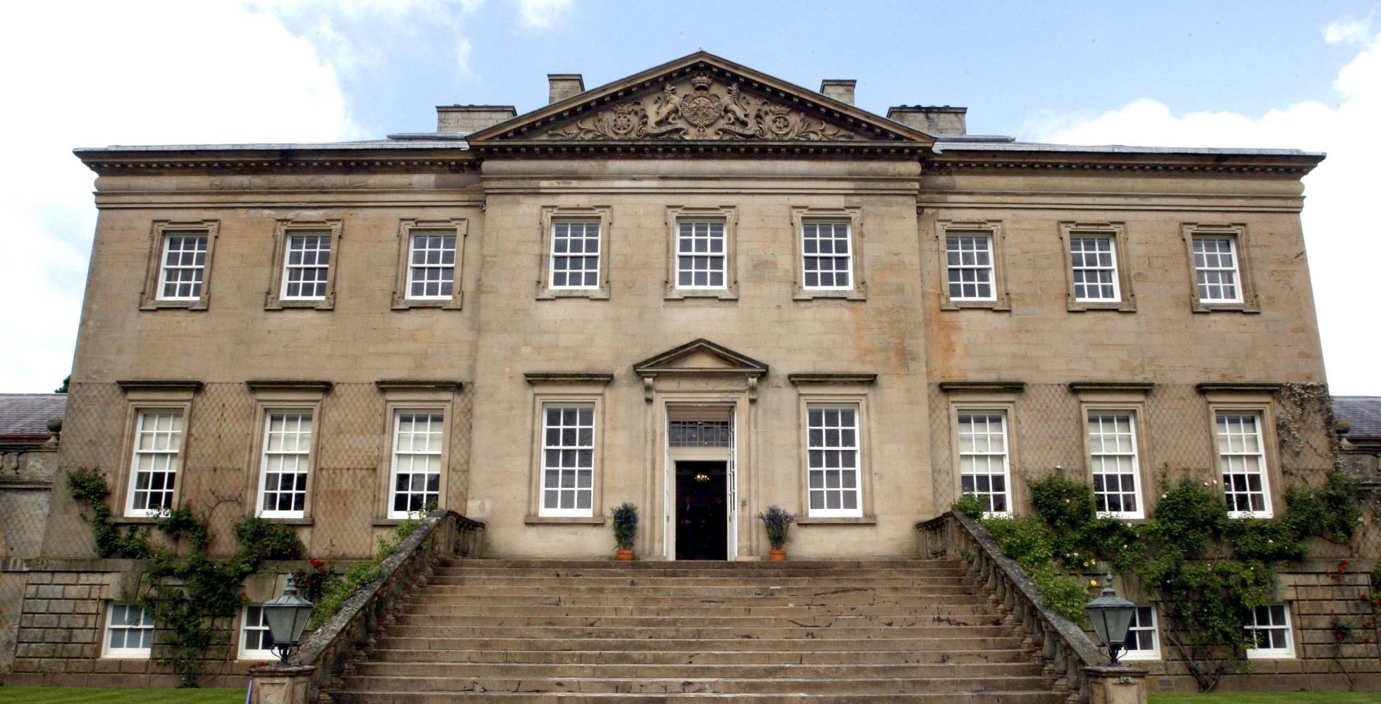 Exterior de Dumfries House.