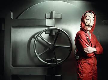 'La casa de papel' es la serie de habla no inglesa más vista en Netflix.