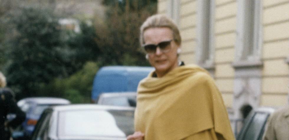 María Gabriela de Saboya en 1990.