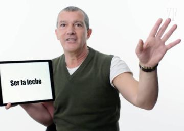 """I don't care a pepper"": Antonio Banderas offers crash course in Spanish slang"