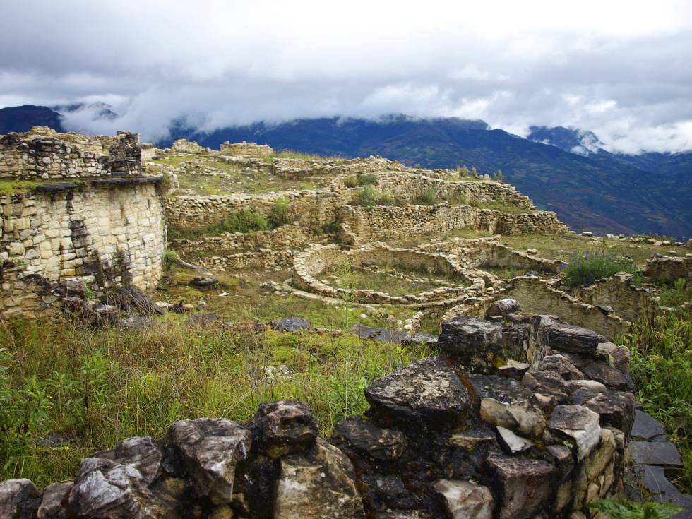 Fortaleza de Kuélap, construida entre los siglos VI y XVI por la cultura Chachapoyas.