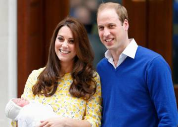 Duke and Duchess of Cambridge reveal name of baby daughter
