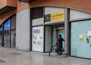 Living on commercial property to escape Barcelona's soaring rent