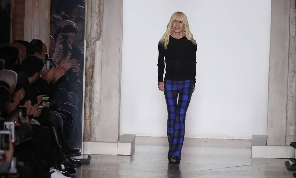 Donatella Versace cumple 63 años de excesos y éxitos   Gente y ... cc84de404a9b