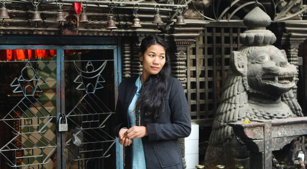 Urmila fue víctima de la tradición kamalari, una práctica que lleva al tráfico de menores en las zonas rurales de Nepal.