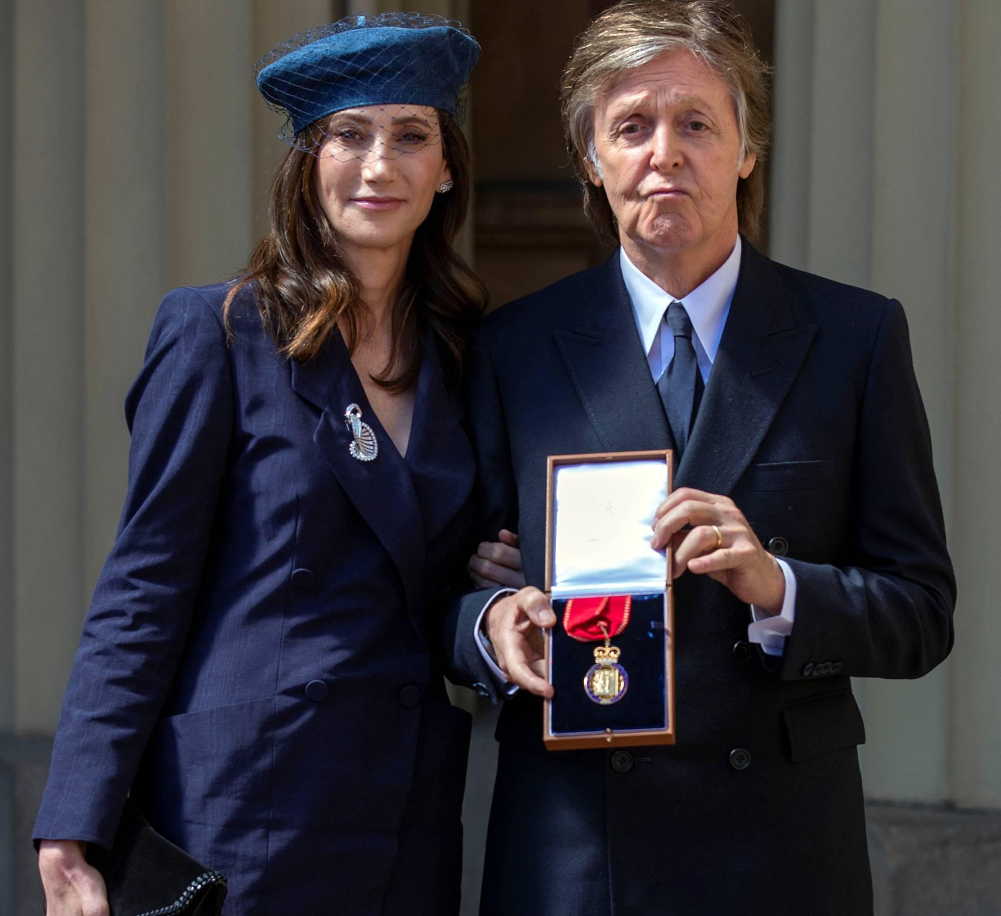 Paul McCartney fue nombrado