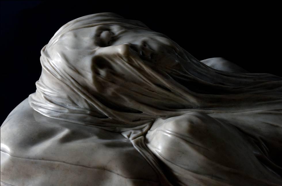 'Cristo Velado' de Giuseppe Sanmartino.