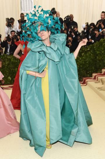 Frances McDormand en la Gala Met 2018