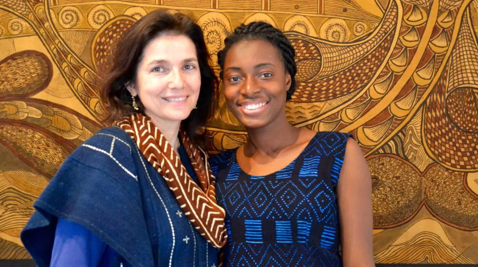 Irene López de Castro y Fatoumata Tioye Coulibaly.