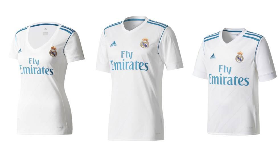 Camiseta oficial 2017-2018 de Adidas. Si eres del Real Madrid ... 2039c4d07df86