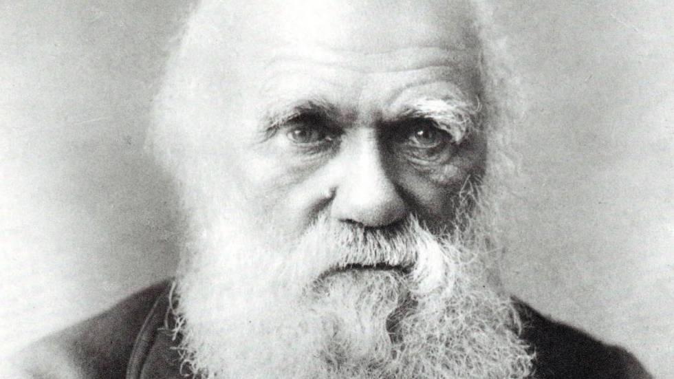 Reatrato de Charles Darwin.