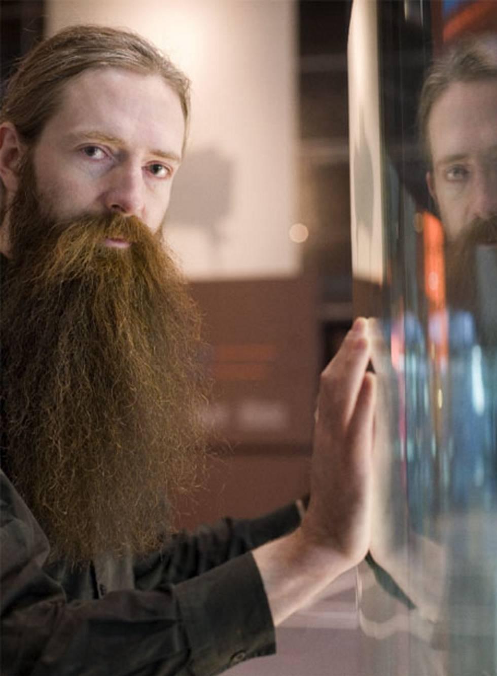 Aubrey de Grey, en Cosmocaixa, en Barcelona
