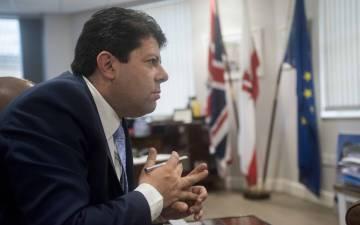Gibraltar Chief Minister Fabian Picardo.