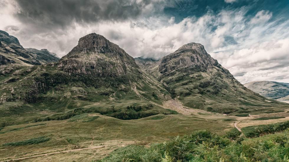 Paisaje de las Highlands