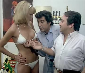 Escena de la película 'Los liantes' (1981), de Mariano Ozores.