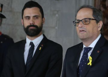 Quim Torra sworn in as Catalan premier with no mention of king, Constitution