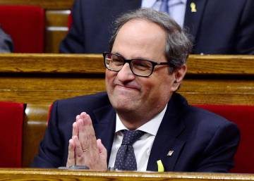Quim Torra is elected new Catalan premier