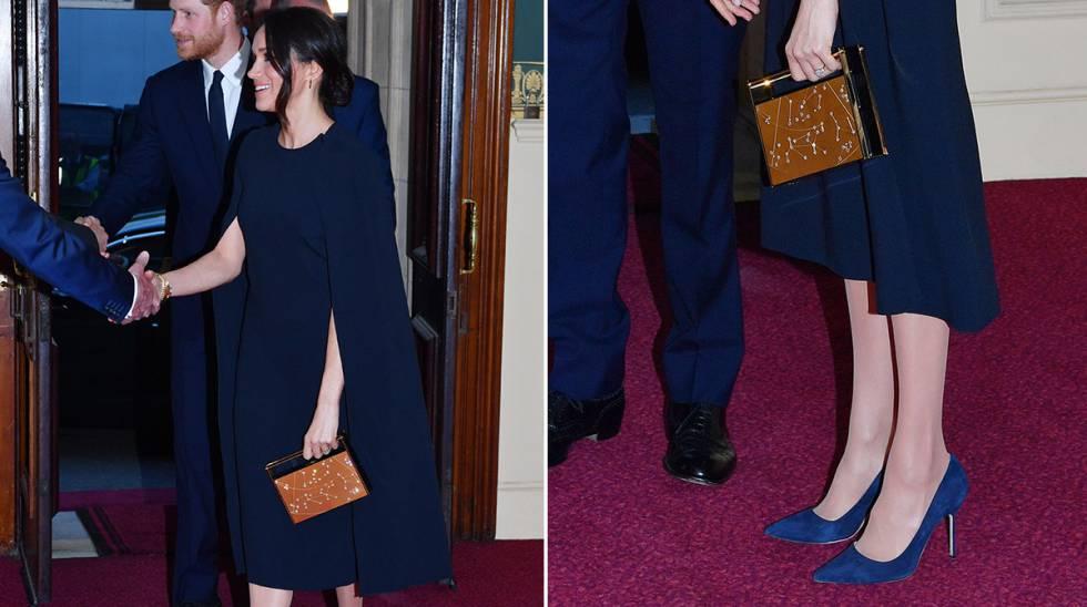 En el cumpleaños de la reina con vestido capa de Stella McCartney