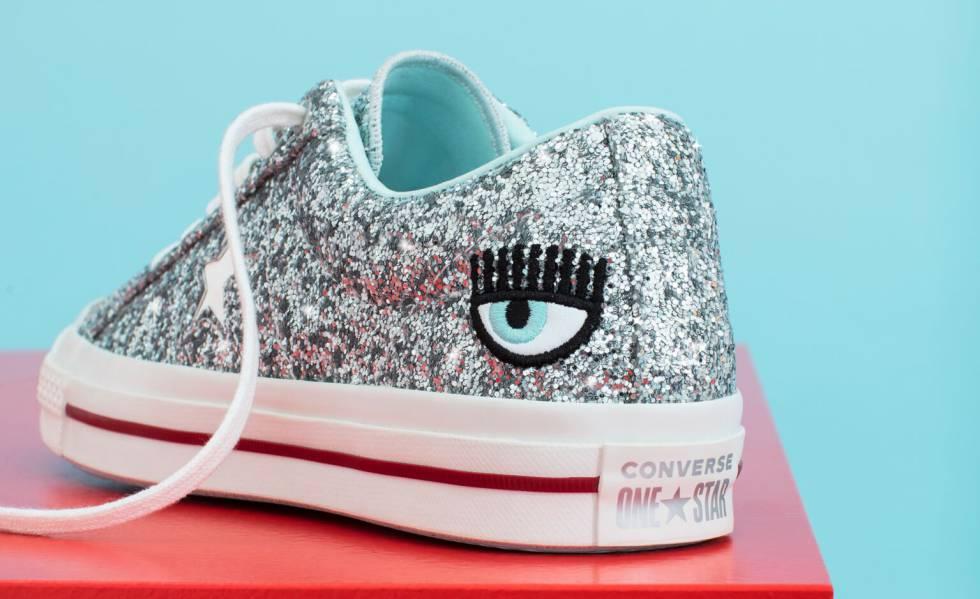 f06a4514 Las zapatillas Converse de Chiara Ferragni.