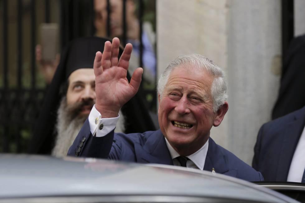 Carlos de Inglaterra, que acompañará a Meghan Markle al altar.