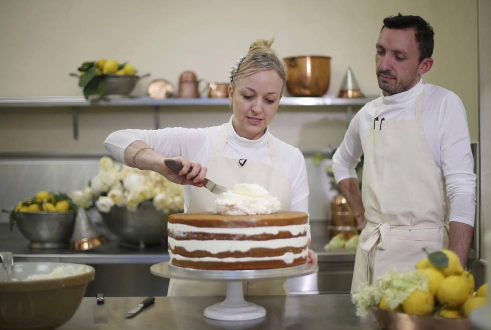 Claire Ptak, encargada de hacer el pastel de la boda.