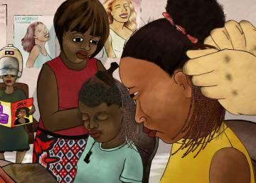 De charla con tres documentalistas africanas