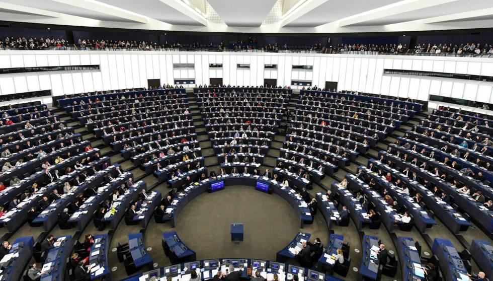 El Parlamento Europeo, durante una sesión plenaria.
