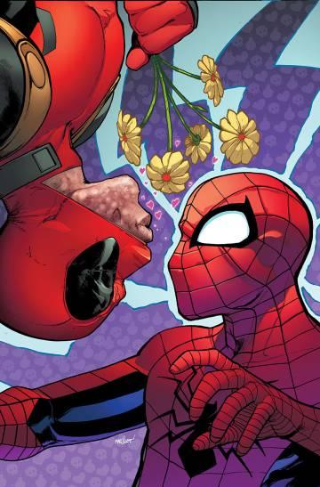 Portada de 'Spider-ManDeadpool' #2 de David Marquez