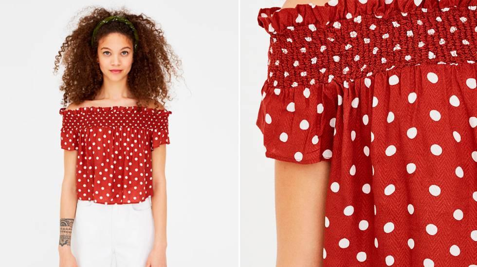 b7a2801d0 Los lunares no pasan de moda  14 prendas para llevar este verano ...