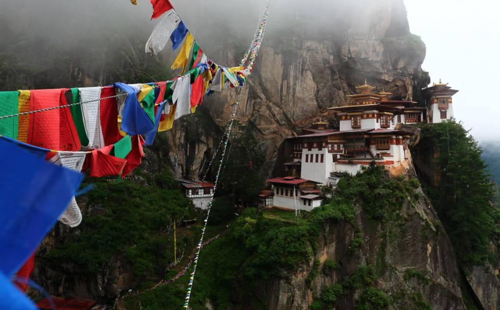 El Nido del Tigre, Bután.