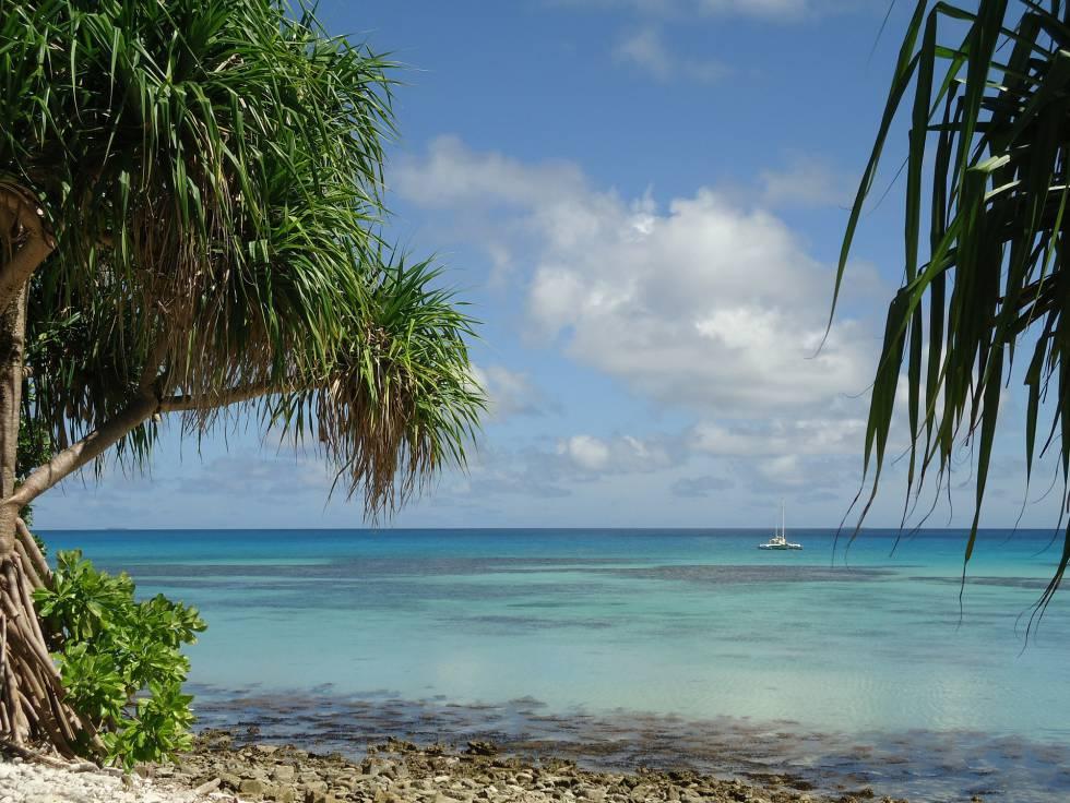 Tuvalu, el país que menos turistas recibe del mundo.