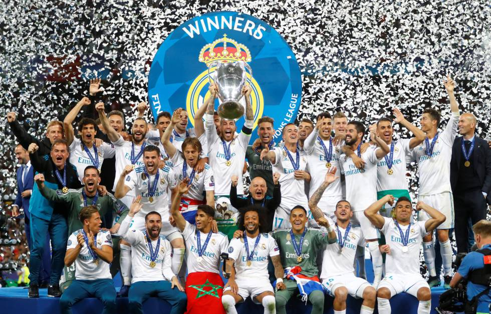 d039571c0f6c9 Fotos  Real Madrid - Liverpool  la Final de Champions 2018