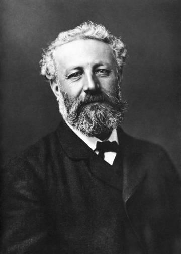 Retrato del escritor francés Julio Verne conservado en la Biblioteca Nacional de Francia.