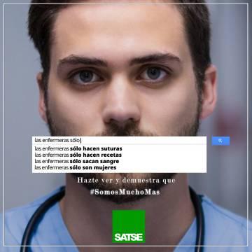 Una de las imágenes de la campaña de SATSE.
