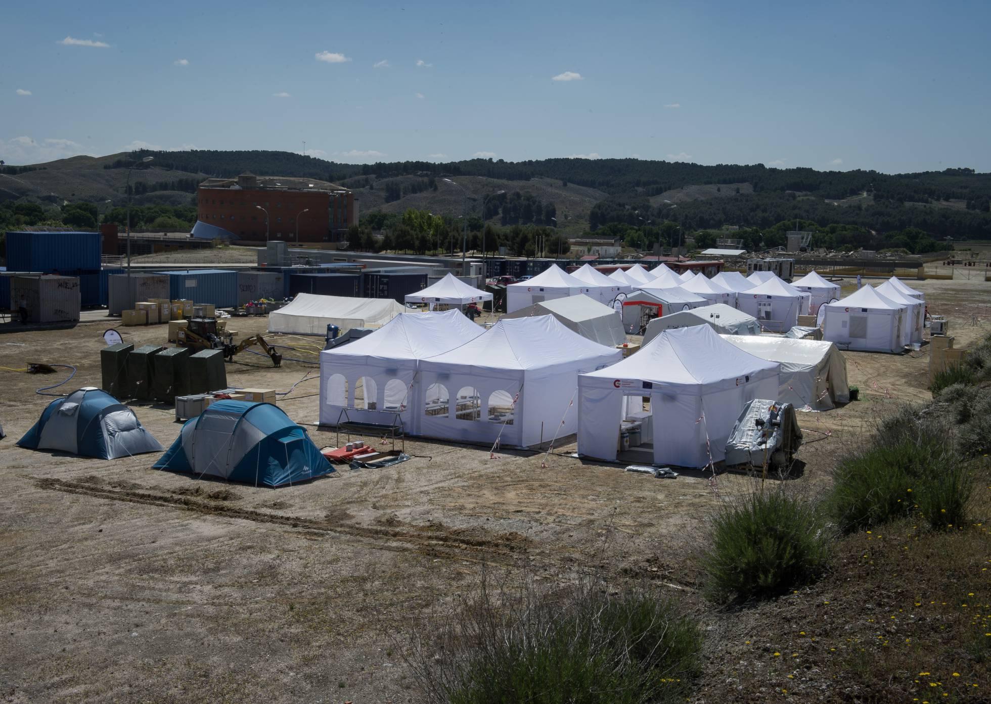 El hospital portátil que España puede mandar a cualquier parte del mundo